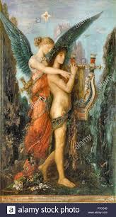 Gustave Moreau - Hesíodo y la Musa 4 Fotografía de stock - Alamy