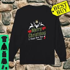Happy New Year Shirt Design Merry Christmas Happy New Year Ugly Sweater Design Shirt