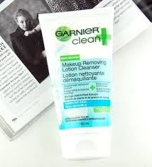 garnier clean makeup removing lotion cleanser for sensitive skin review