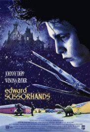 edward scissorhands imdb edward scissorhands poster
