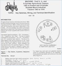 ford tractor ignition switch wiring diagram for ford tractor Typical Ignition Switch Wiring Diagram at Ford 2000 Tractor Ignition Switch Wiring Diagram