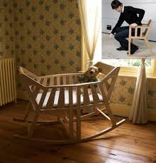 baby cradle rocking chair