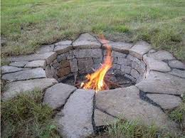 How To Build A DIY Fire Pit In One Day  Seeking Alexi DIY TeachingCan I Build A Fire Pit In My Backyard