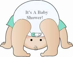 Its A Diaper Shower  Free Images At Clkercom  Vector Clip Art Baby Shower Pictures Free