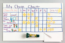 How To Do A Chore Chart Chore Chart Crayola Be