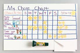 Best Way To Make A Chore Chart Chore Chart Crayola Be
