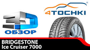 3D-обзор шины <b>Bridgestone Ice Cruiser 7000</b> - 4 точки. Шины и ...