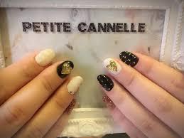 白黒クールに決めちゃう Petite Cannelle所属中村桂子のネイル