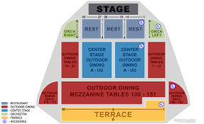 Summerstage Seating Chart Valid Humphreys Concerts By The Bay Detailed Seating Chart