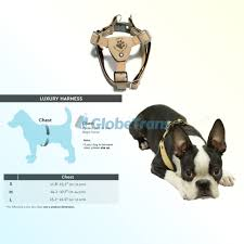 Gooby Size Chart Gooby Luxury Step In Harness Small Tan