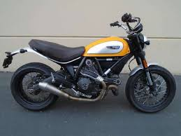 ducati scrambler cafe racer standard motorcycles for sale