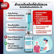 สำรวจโรคใดที่ยังไม่ควรฉีดวัคซีนป้องกันโควิด-19 – THE STANDARD