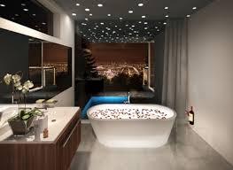 spa lighting for bathroom. Spa Bathroom Fixtures Photo - 1. Built-in Light Bulbs In The Ceiling Lighting For