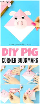 hedgehog corner bookmark origami for kids