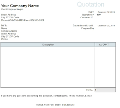 free price quote template quotation format in word format