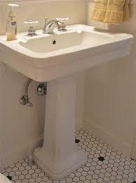 vintage bathroom pedestal sinks. Bathroom Sinks Retro Fresh Vintage Style Powder Room Pedestal Sink Faucet