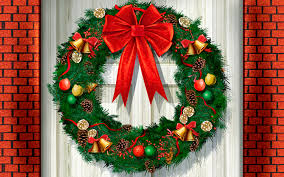 christmas front door clipart. Christmas Front Door Clipart For New Ideas Inside Html L