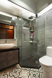 architecture bathroom toilet: hexagonal shower stall shower screen common toilet