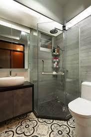 architecture bathroom toilet: hexagonal shower stall shower screen common toilet