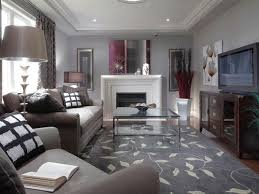 arranging furniture in small living room with fireplace and using gray paint color schemes