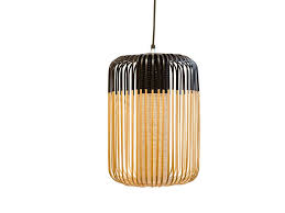 bamboo pendant lamp bamboo light outdoor by forestier
