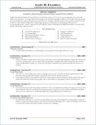 Social Work Resume Sample Classy Resume For Social Worker Awesome Social Work Skills Resume