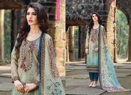 Salwar Kameez Designs Catalogue Free Download Bela Fashion Solitaire Vol 3 Cotton Lawn Print Work Salwar