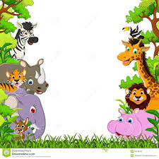 jungle animal background. Plain Background Image For Free Jungle Animal Clipart Cartoon Images Cute  Throughout Background M