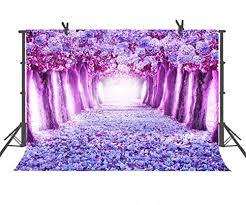 Cherry Blossom Backdrop Fuchsia Pink Cherry Blossom Backdrop Wedding Romance Photography Background For Photo Booth Backdrops Theme Party Backgrounds 9x6ft Pst562