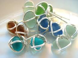 wrapped sea gl jewelry