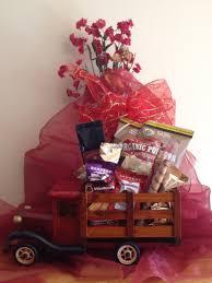 joy metalic gift basket truck a