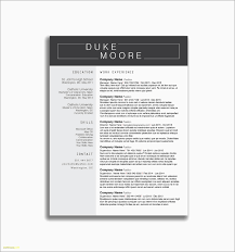 No Experience Resume Templates New Resume Template For Bartender No
