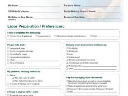 Different Birth Plan Options Birth Plan Forms Mozo Carpentersdaughter Co