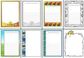 free printable borders teachers instant display teaching resources summer
