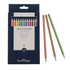 <b>2455179 Карандаши 12</b> цветов Multicolor, в пенале купить в ...