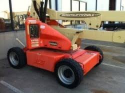 genie genie s40 s45 boom lift 4x4 jlg e450aj electric manlift