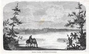 drzeworyt 1867 JEZIORO ŚWITEŹ, W POWIECIE SUWAŁKSK - 6778037262 - oficjalne  archiwum Allegro