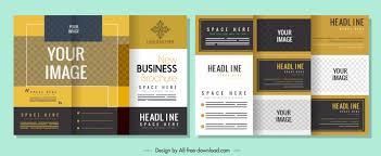 Brochure Template Design Free Leaflet Design Template Free Vector Download 18 684 Free