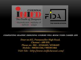 Graphic Design Training In Chennai Completing Graphic Designing Courses Will Boom Your Career