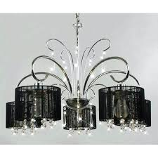chandeliers black crystal chandelier marvellous black and crystal chandeliers small black chandelier silver metal chandelier with