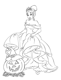 Small Picture Disney Princess Halloween Coloring Pages Coloring Coloring Pages