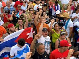 Cuba protests spread to Miami as ...