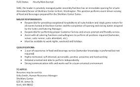 cover letter cover letter blank line server job description endearing suites attendant job description sherinwilliamline server food server job description