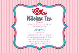 Kitchen Tea Kitchen Tea Party Invitation Ideas