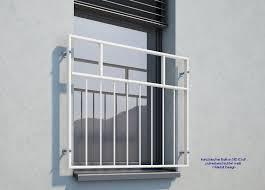 Französischer Balkon Md03ap Pulverbeschichtet Weiß Ral9016 Deutschland