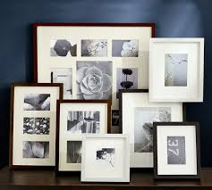 multiple empty picture frames. Wood Gallery Multiple Opening Frames Empty Picture