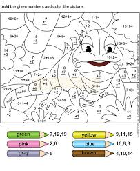 math coloring pages best of math coloring sheets for spring addition and subtraction to 20