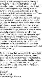 this post shows how hard and beautiful nursing is nurse story1d