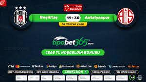 Beşiktaş - Antalyaspor Justin TV canli bedava maç izle - Tempobet Giris