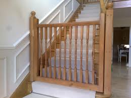 image of dog gate for stairs photo